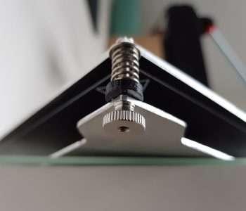 Wanhao i3 duplicator bouwplaat kalibratie thumbnut